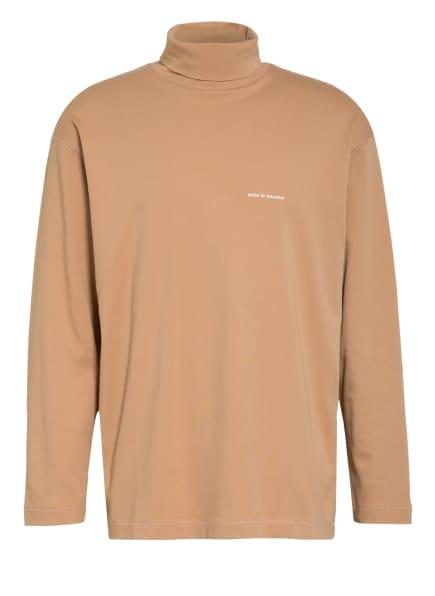 DRÔLE DE MONSIEUR Sweatshirt mit Rollkragen , Farbe: CAMEL (Bild 1)