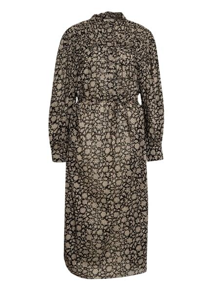 ISABEL MARANT ÉTOILE Kleid PERKINS, Farbe: SCHWARZ/ CREME (Bild 1)