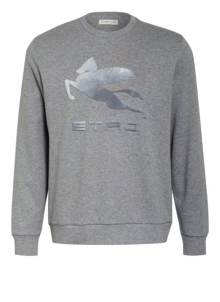 ETRO Sweatshirt, Farbe: GRAU/ HELLGRAU (Bild 1)