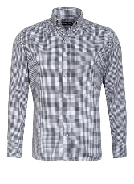 TOM FORD Hemd Slim Fit, Farbe: WEISS/ GRAU/ BLAU (Bild 1)