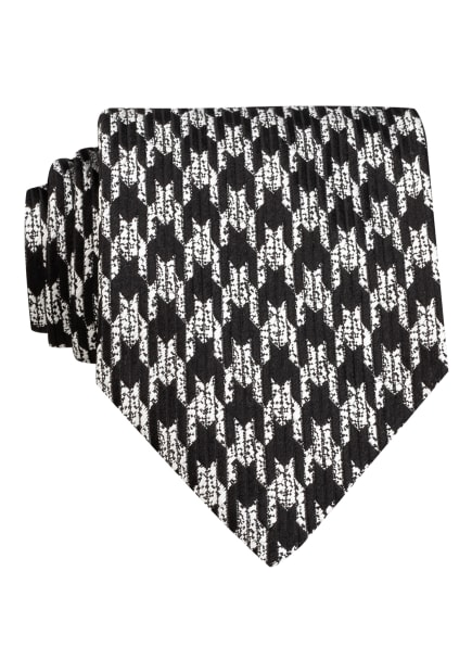 TOM FORD Krawatte, Farbe: SCHWARZ/ SILBER (Bild 1)
