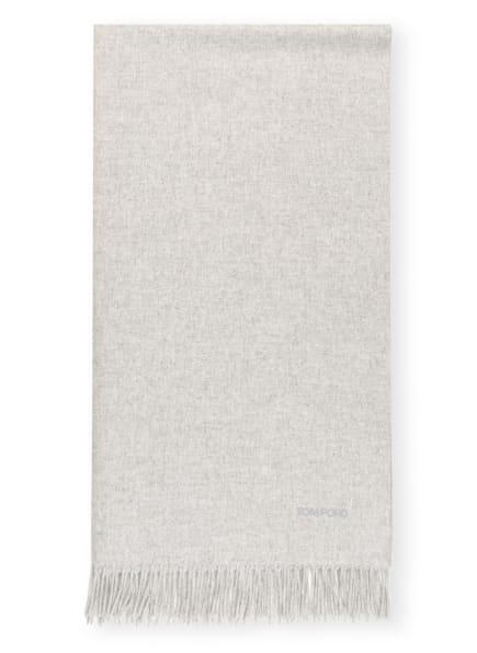 TOM FORD Cashmere-Schal, Farbe: HELLGRAU (Bild 1)