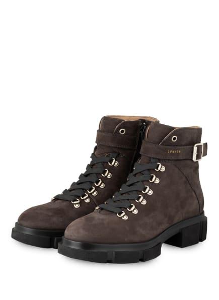 COPENHAGEN Schnür-Boots, Farbe: TAUPE (Bild 1)