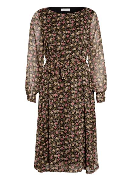 JcSophie Kleid ERIC mit Glitzergarn , Farbe: SCHWARZ/ OLIV/ LACHS (Bild 1)