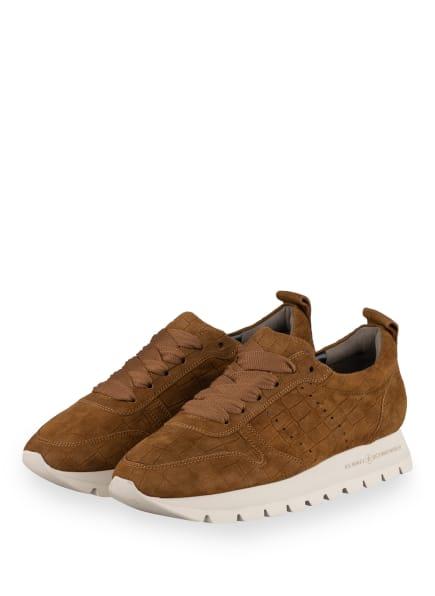 KENNEL & SCHMENGER Plateau-Sneaker RISE X, Farbe: BRAUN (Bild 1)