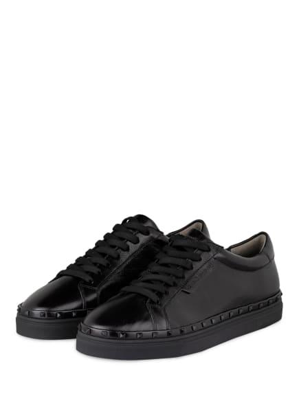 KENNEL & SCHMENGER Sneaker COSMO mit Nietenbesatz, Farbe: SCHWARZ (Bild 1)