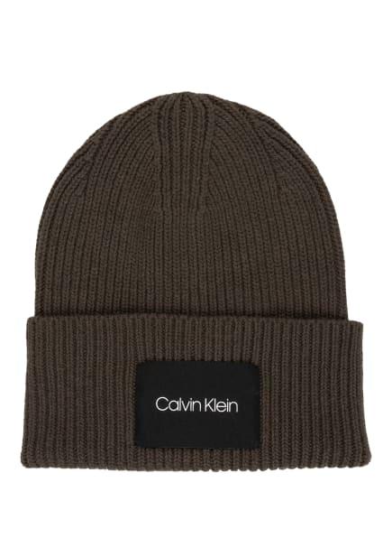 Calvin Klein Mütze, Farbe: GRÜN (Bild 1)