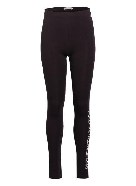 Calvin Klein Leggings, Farbe: SCHWARZ/ WEISS (Bild 1)