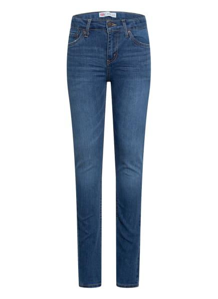 Levi's® Jeans 502 Skinny Fit, Farbe: BLAU (Bild 1)