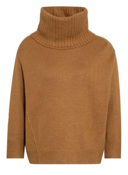 LUISA CERANO Pullover mit 3/4-Arm, Farbe: BRAUN (Bild 1)