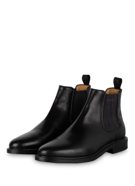 GANT Chelsea-Boots ST AKRON, Farbe: SCHWARZ (Bild 1)
