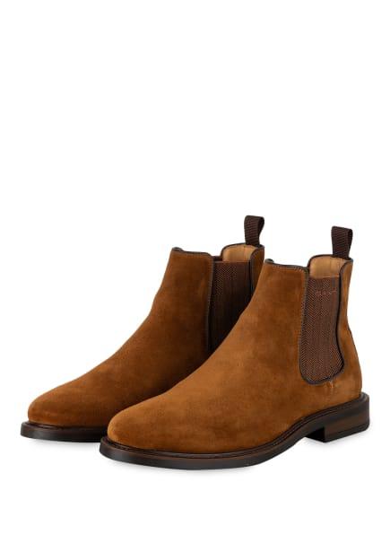 GANT Chelsea-Boots ST AKRON, Farbe: COGNAC (Bild 1)
