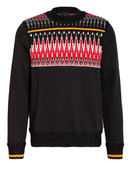 FIRE+ICE Pullover MAREK, Farbe: SCHWARZ/ GRAU/ ROT (Bild 1)