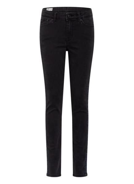 Pepe Jeans Skinny Jeans PIXILETTE TAPE mit Galonstreifen , Farbe: DENIM (Bild 1)