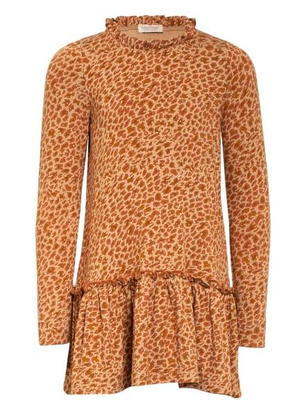 MarMar Jerseykleid, Farbe: HELLBRAUN/ BRAUN (Bild 1)