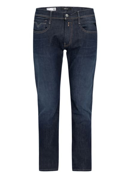 REPLAY Jeans Anbass HYPERFLEX RE-USED Slim Fit, Farbe: 007 DARK BLUE (Bild 1)