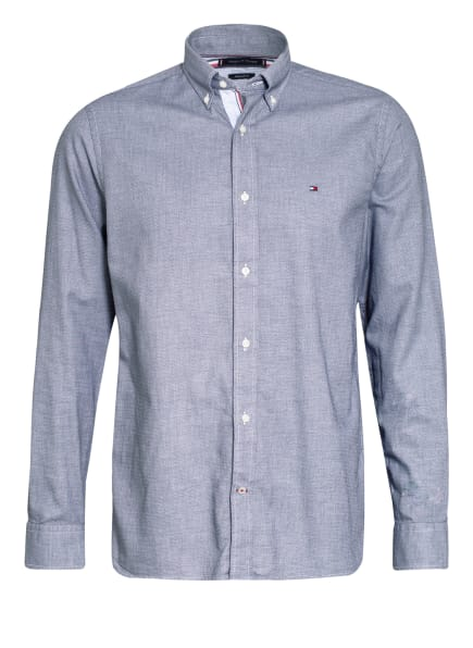 TOMMY HILFIGER Hemd Regular Fit, Farbe: DUNKELBLAU/ HELLBLAU (Bild 1)