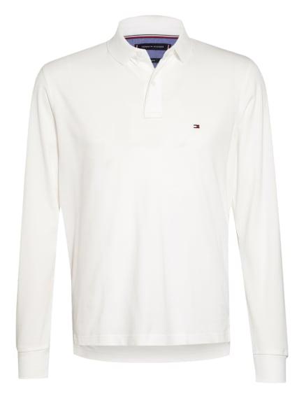 TOMMY HILFIGER Jersey-Poloshirt, Farbe: WEISS (Bild 1)