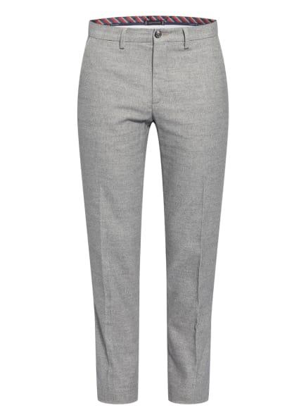 TOMMY HILFIGER Chino DENTON Straight Fit, Farbe: GRAU/ WEISS (Bild 1)