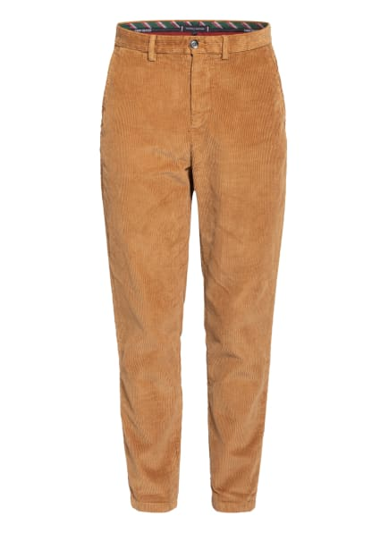 TOMMY HILFIGER Cord-Chino Tapered Fit, Farbe: COGNAC (Bild 1)