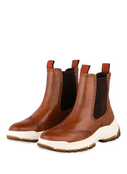 Marc O'Polo Chelsea-Boots , Farbe: COGNAC (Bild 1)