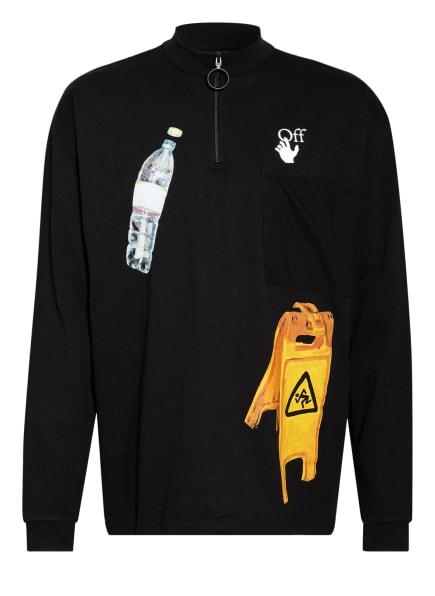 OFF-WHITE Sweatshirt , Farbe: SCHWARZ/ WEISS/ GELB (Bild 1)