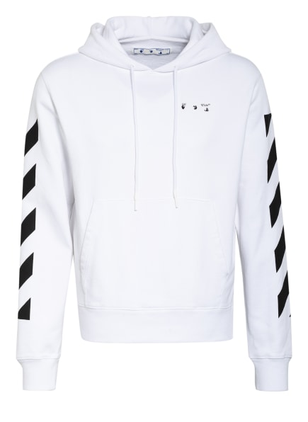 OFF-WHITE Hoodie, Farbe: WEISS/ SCHWARZ (Bild 1)