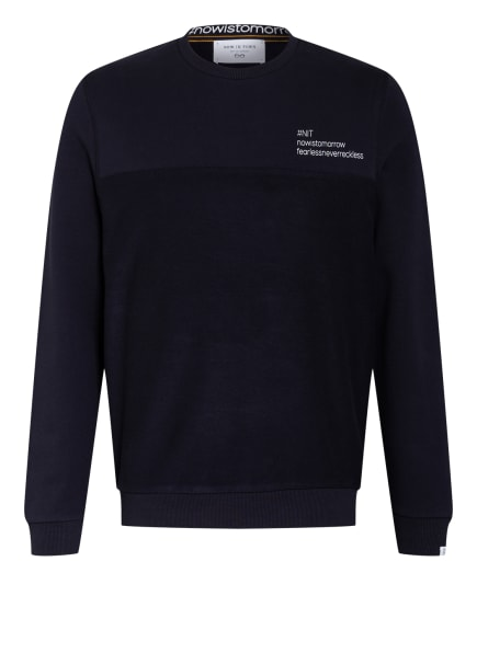 NEW IN TOWN Sweatshirt, Farbe: DUNKELBLAU (Bild 1)