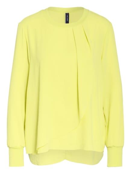 MARCCAIN Blusenshirt mit Volantbesatz, Farbe: 411 lemonade (Bild 1)