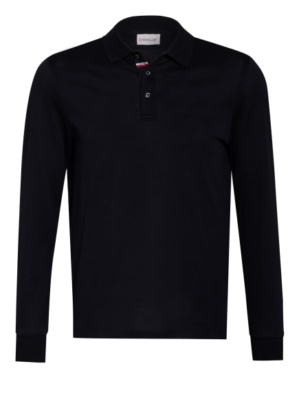 MONCLER Piqué-Poloshirt , Farbe: DUNKELBLAU (Bild 1)