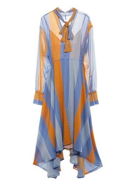 MYKKE HOFMANN Kleid, Farbe: HELLBLAU/ ORANGE (Bild 1)