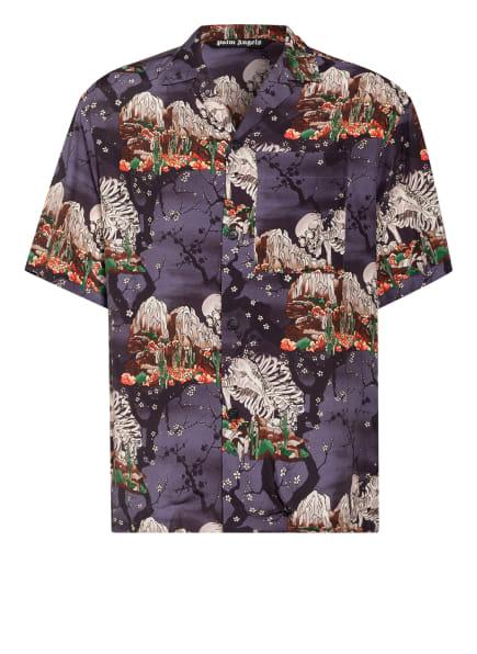 Palm Angels Resorthemd Comfort Fit , Farbe: LILA/ WEISS/ ROT (Bild 1)