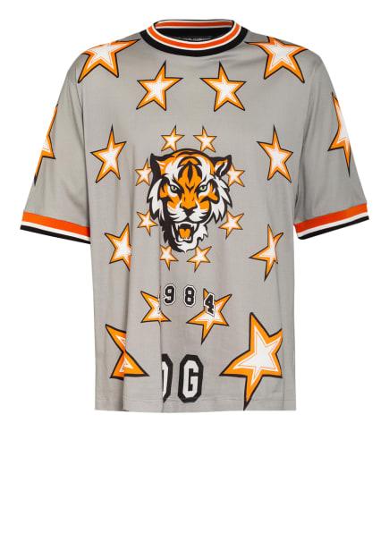 DOLCE&GABBANA T-Shirt , Farbe: GRAU/ WEISS/ ORANGE (Bild 1)