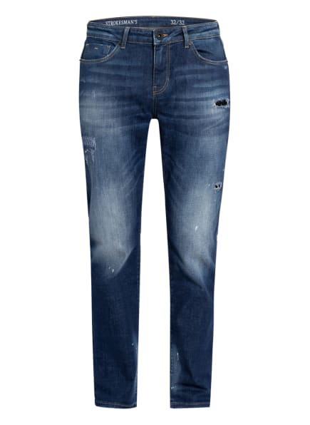 STROKESMAN'S Jeans Slim Fit , Farbe: BLUE DESTROYED (Bild 1)