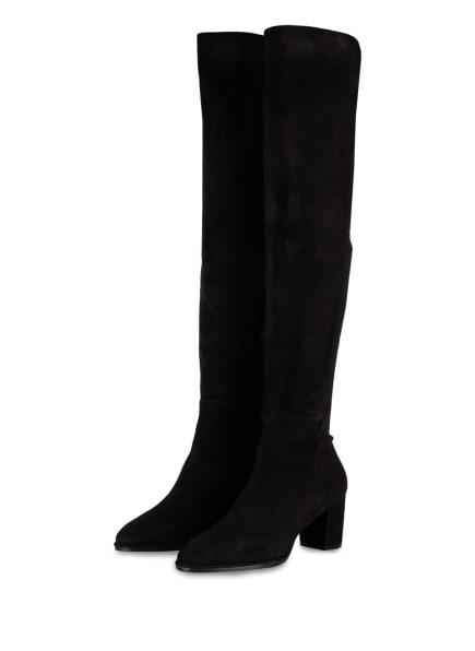 STUART WEITZMAN Overknee-Stiefel HARPER 60, Farbe: SCHWARZ (Bild 1)