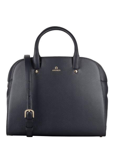 AIGNER Handtasche IVY MEDIUM, Farbe: DUNKELBLAU (Bild 1)