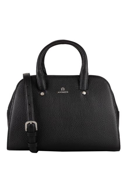AIGNER Handtasche IVY SMALL, Farbe: SCHWARZ (Bild 1)
