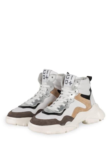 GIO+ Hightop-Sneaker PATTY, Farbe: WEISS (Bild 1)