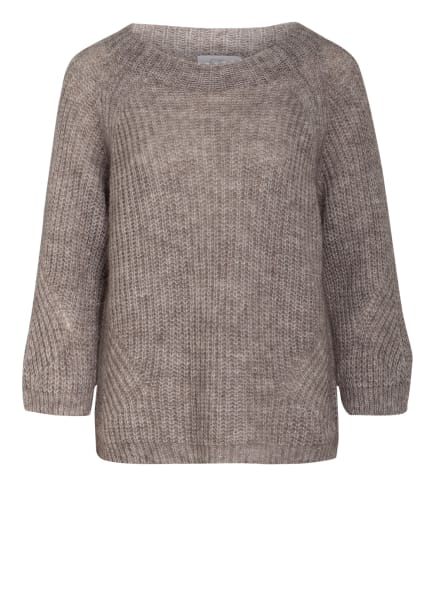 heart MIND Pullover BO_KATCH mit Mohair , Farbe: TAUPE (Bild 1)