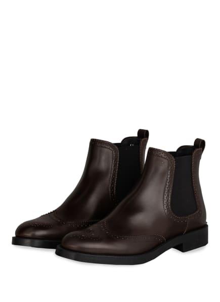 TOD'S Chelsea-Boots , Farbe: DUNKELBRAUN (Bild 1)