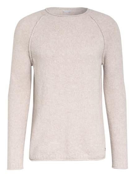 BETTER RICH Pullover CREW CLEAN, Farbe: CREME (Bild 1)