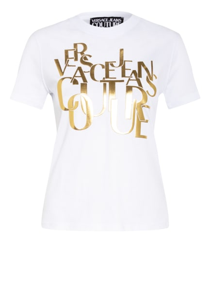 VERSACE JEANS COUTURE T-Shirt , Farbe: WEISS/ GOLD (Bild 1)