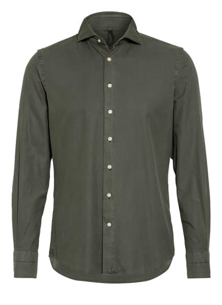 PROFUOMO Hemd Slim Fit, Farbe: DUNKELGRÜN (Bild 1)