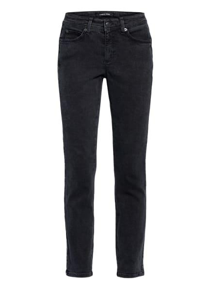 CAMBIO Skinny Jeans mit Galonstreifen, Farbe: 5122 schwarz denim (Bild 1)