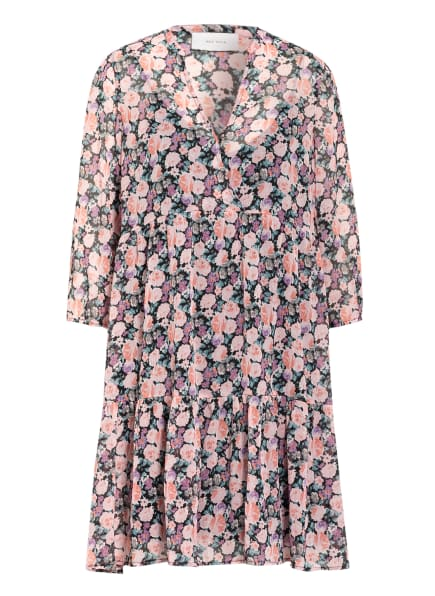 NEO NOIR Kleid SANSAY mit 3/4-Arm , Farbe: SCHWARZ/ ROSA/ MINT (Bild 1)
