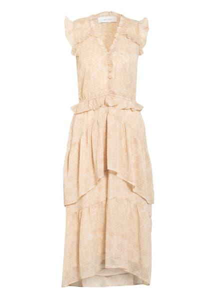 NEO NOIR Kleid SELMA , Farbe: BEIGE/ WEISS (Bild 1)