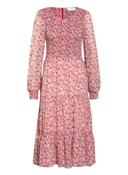 NEO NOIR Kleid STILES ROSY , Farbe: WEISS/ HELLORANGE/ HELLLILA (Bild 1)