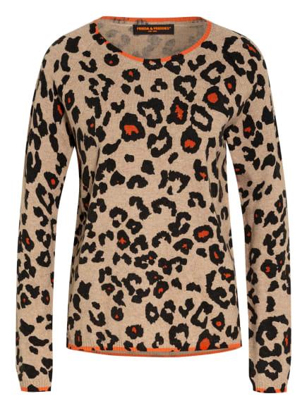 FRIEDA&FREDDIES Pullover, Farbe: BRAUN/ SCHWARZ (Bild 1)