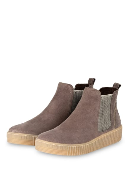 Gabor Chelsea-Boots, Farbe: GRAU (Bild 1)