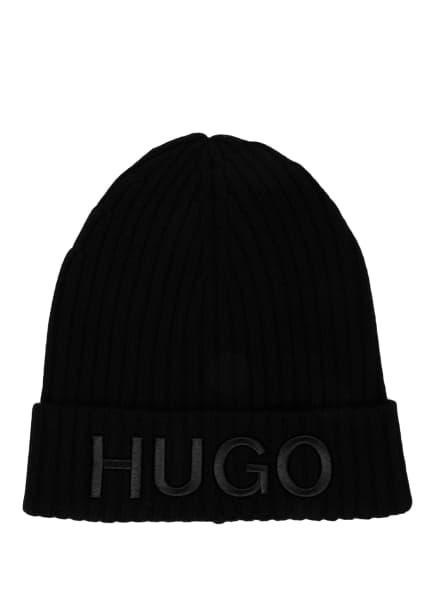 HUGO Mütze, Farbe: SCHWARZ (Bild 1)